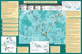 Colorado Springs Trail Map by Trail Information U0026 Maps Pagosa Springs Nordic Club