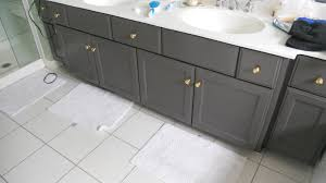 how to paint a bathroom cabinet black nrtradiant com