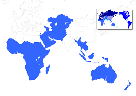 africa e asia mappa southeast asia south asia except india west asia middle