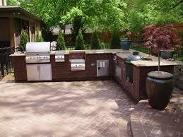 Outdoor Kitchen Backsplash Refreshing Pictures Cheap Outdoor Kitchen Kits Mosaic