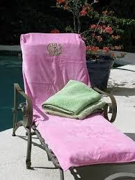 Lounge Chair Towel Covers Beach Towel Monogrammed Lounge Chair Covers U0026 Beach Towels