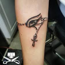 eye of horus tribal wrist eye tribal