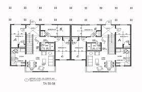 apartment blueprints floor duplex house plans home building