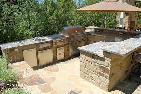 outdoor kitchen ideas diy white countertop ceramic backsplash