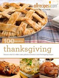 thanksgiving 100 best recipes from allrecipes book 4