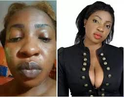 checkout nigerian female celebrities with and without makeup so funny