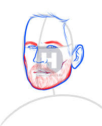 how to draw paul walker step by step drawing guide by