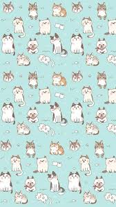 wallpaper cat whatsapp kawaii cat find more funky patterns for your iphone android