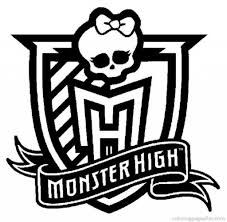 the most brilliant monster high coloring pages to print intended