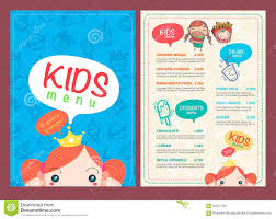 menu templates for kids templates for invoices templates for gift