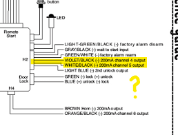 which wire do i use help with car alarm please honda civic forum