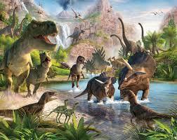 47 best kids murals images on pinterest wallpaper murals kids dinosaur land walltastic creates a giant wall mural set in a prehistoric world where giant dinosaurs roam trying to avoid the fearsome tyrannosaurus rex