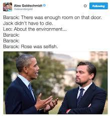Leonardo Dicaprio Meme - obama met leonardo dicaprio and it s now a meme leonardo dicaprio