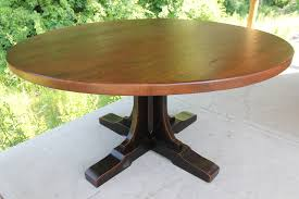 60 Pedestal Table Table Exciting Pedestal 60 Round Dining Table Reclaimed Wood