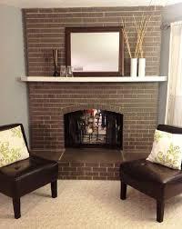 brick fireplace paint design u2014 jessica color steps to use brick