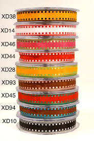 wired ribbon wholesale 5 8 inch solid dot edge wired ribbon may arts wholesale ribbon