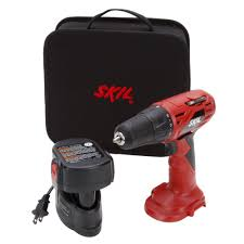 Skil Flooring Saw Home Depot by Skil 12 Volt Ni Cad 3 8 In Cordless Electric Drill Driver 2240 01