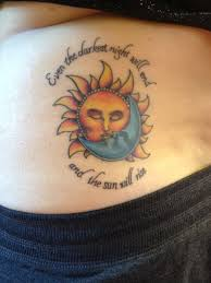 the gallery for sun and moon meaning tatoos