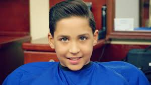 kid u0027s haircut tutorial how to do a comb over and a fade youtube