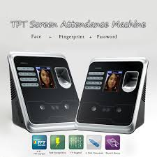 alibaba face recognition 2 4 tft fingerprint face recognition attendance machine time clock