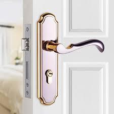 bedroom door handles free shipping door lock indoor bedroom door lock three simple