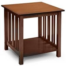 mission style coffee table light oak mission style end table light oak walmart com