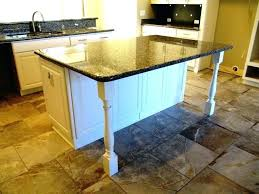 Wood Kitchen Island Legs Kitchen Island Kitchen Island Legs Unfinished Wood Home Depot