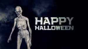 happy halloween cover photos happy halloween zombie walks with halloween sign