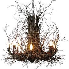 Halloween Chandeliers Appalachian Branch Chandelier Rustic Chandeliers By Indeed Decor