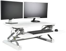 Adjustable Height Standing Desk by Desk V000dw Vivo Deluxe Height Adjustable Standing Desk Tabletop