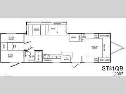 sunset trail rv floor plans used 2007 crossroads rv sunset trail 31qb travel trailer at general