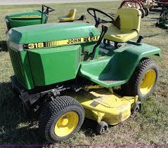john deere 318 lawn mower item f9419 sold november 16 a