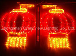 led new years led lantern rope motif light for new year decoration china