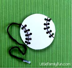 combining two favorite pastimes cute baseball themed crafts diy