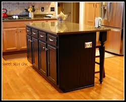 how to build a kitchen island with cabinets kitchen island redo silly chic