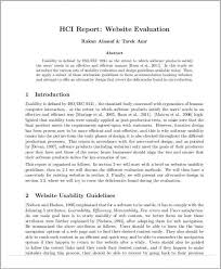 website evaluation report template website evaluation report pdf professional and high quality