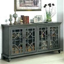 buffet cabinet with glass doors sliding door buffet cabinet phenomenal inside sideboards outstanding