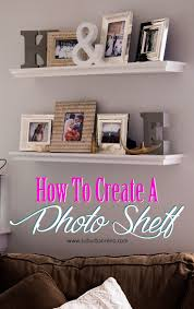 best 25 metal picture frames ideas on pinterest sheet metal a step by step tutorial on how to create a photo shelf gallery wall