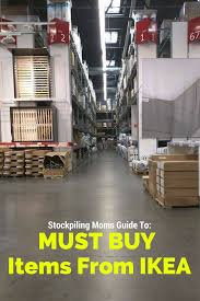must buy items from ikea