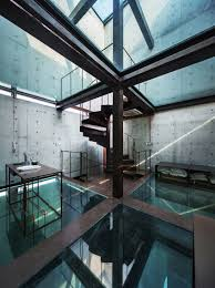vertical glass house atelier fcjz archdaily