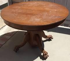 Drop Leaf Oak Table Elegant Antique Round Oak Pedestal Dining Table Delightful I