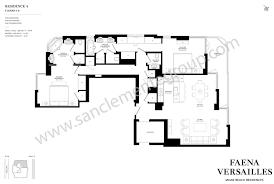 classic floor plans faena versailles classic sanclemente group