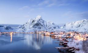 reine the most meautiful village in norway photo one big photo
