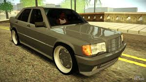 mercedes 190e 3 2 amg 190e 3 2 amg for gta san andreas