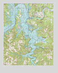 table rock lake map table rock dam mo topographic map topoquest