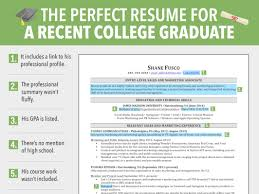 best resume for recent college graduate recent college graduate resume template resume exles 2017