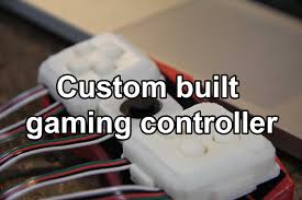 building a custom game controller for the physically disabled
