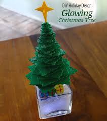 diy holiday decor glowing christmas tree growing up bilingual