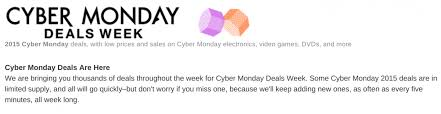 will amazon have a better sale on cyber monday than on black friday amazon u0027cyber monday u0027 2015 deals how good are they