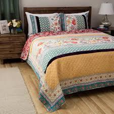 Green And Yellow Comforter Beautiful 7pc Modern Blue Teal Aqua Tan Grey Scroll Pleat
